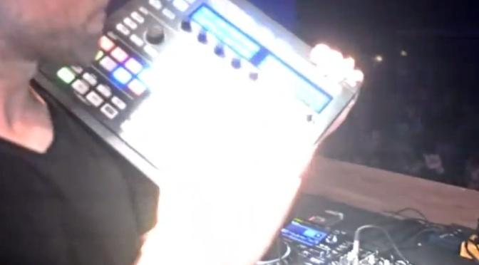 Basskleph Live Remix with Maschine MKII